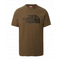 The North Face Woodcut Dome Tee - Millitary Olive